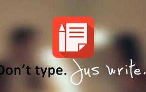 JusWrite记事备忘app 就是要你手写