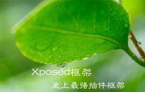 安卓神器Xposed框架 释放安卓巨大能量